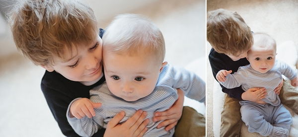 Adorable Columbus in-home Family Photo shoot