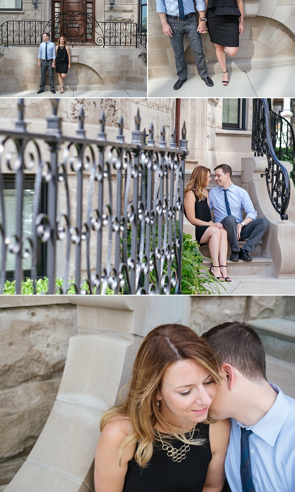 Engagement session in chicago
