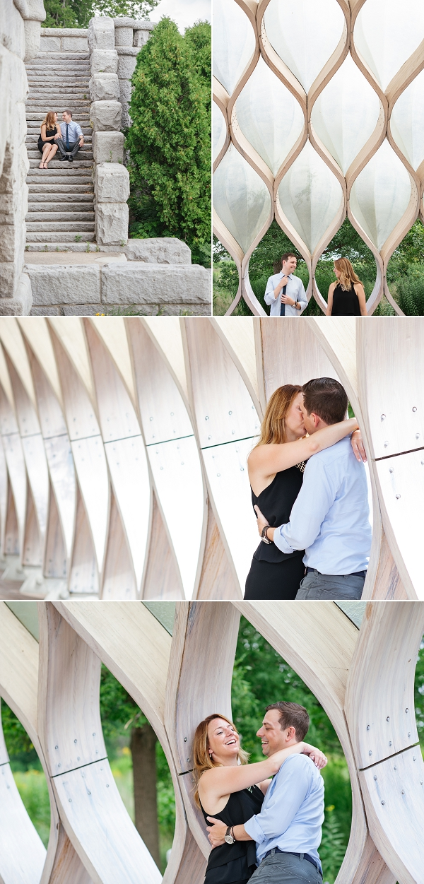 lincoln park Engagement