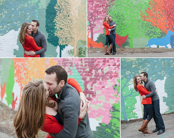 fun Clintonville engagement session