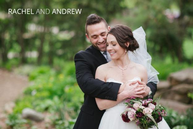 newlyweds embrasing