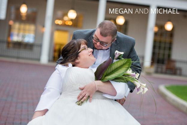 heartfelt wheelchair wedding