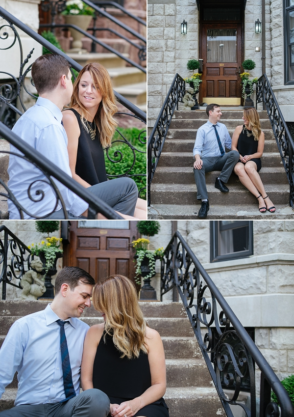 Chi town engagement session