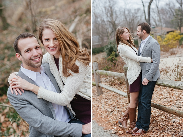 Fall Clintonville engagement session