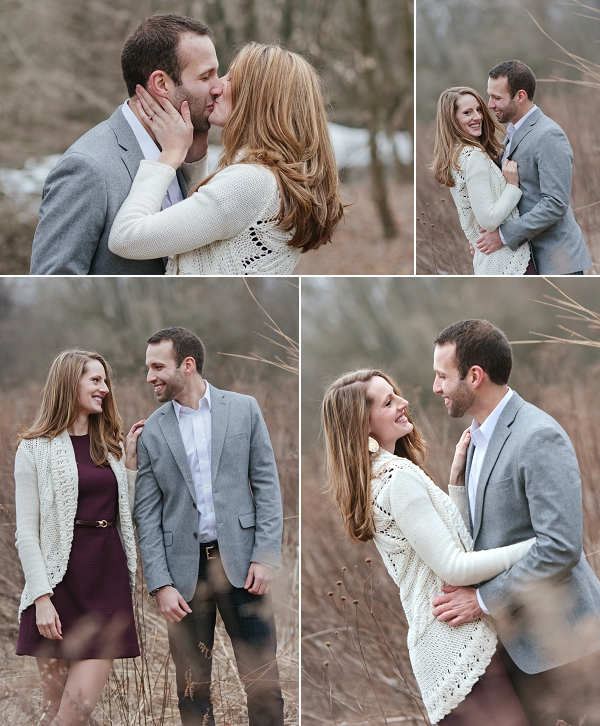 romantic Clintonville engagement session