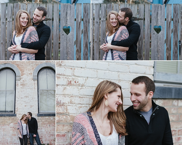 loving Clintonville engagement session