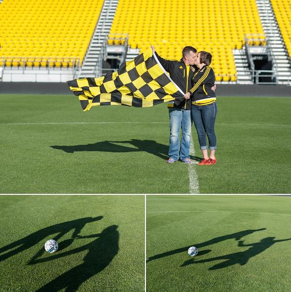 soccer engagment photos