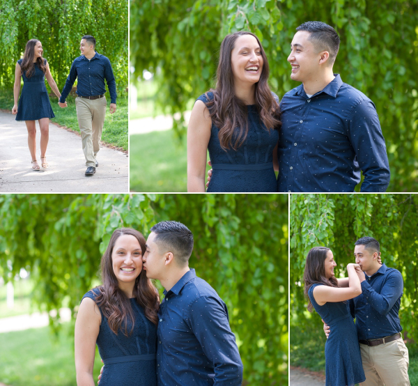 goodale park engagement photos
