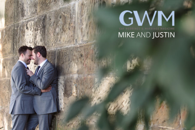 Mike and Justin published gay wedding magazine