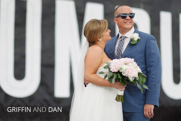 griffin and dan downtown columbus wedding