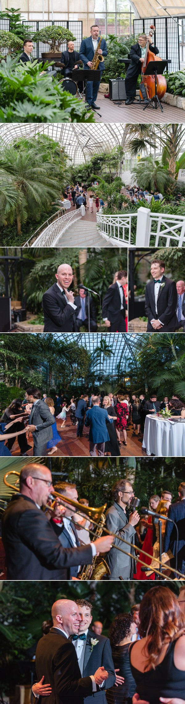live wedding music at franklin park conservatory
