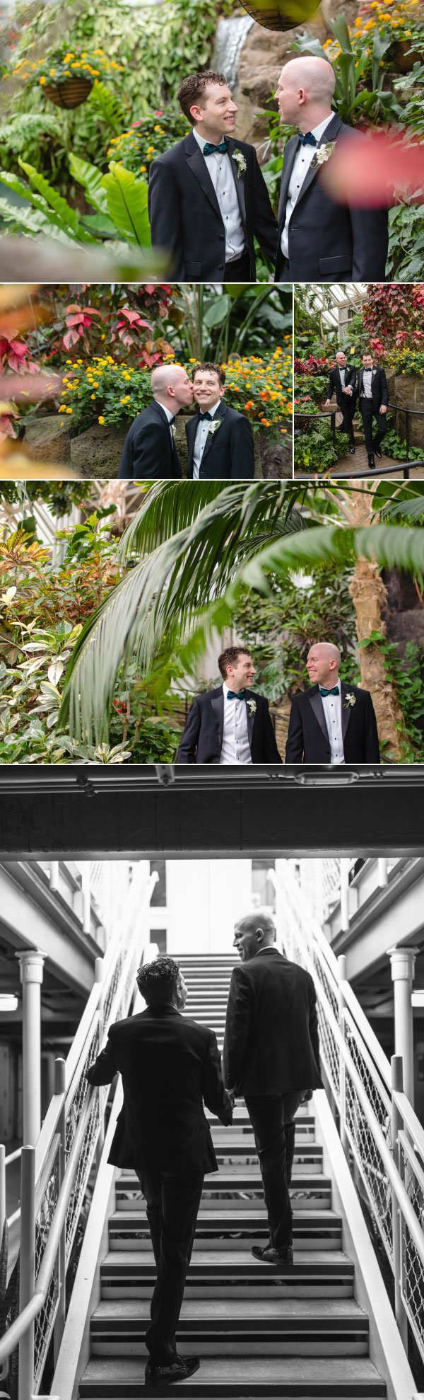 gay wedding at franklin park conservatory