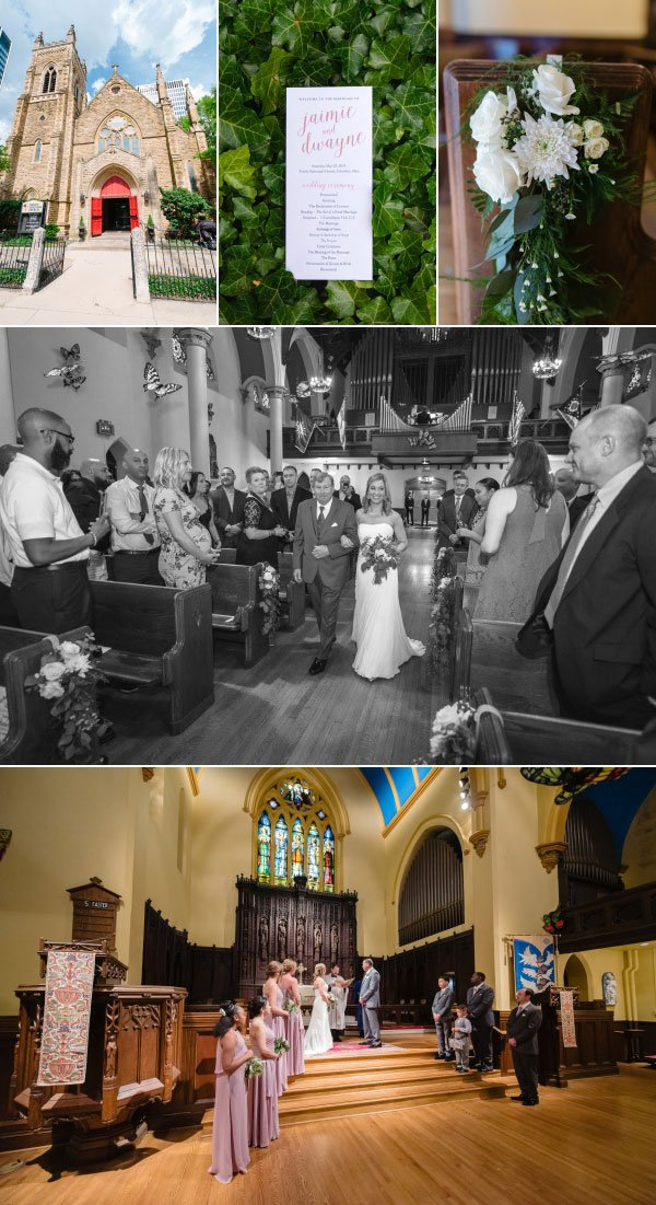 Columbus Episcopal Wedding