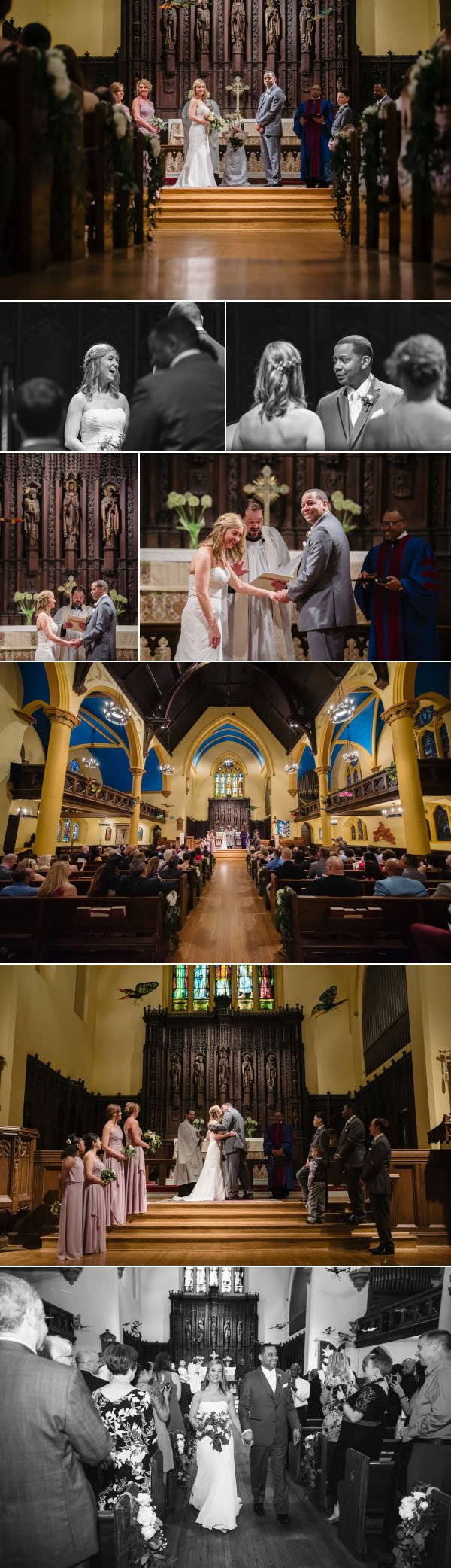 Episcopal columbus wedding ceremony