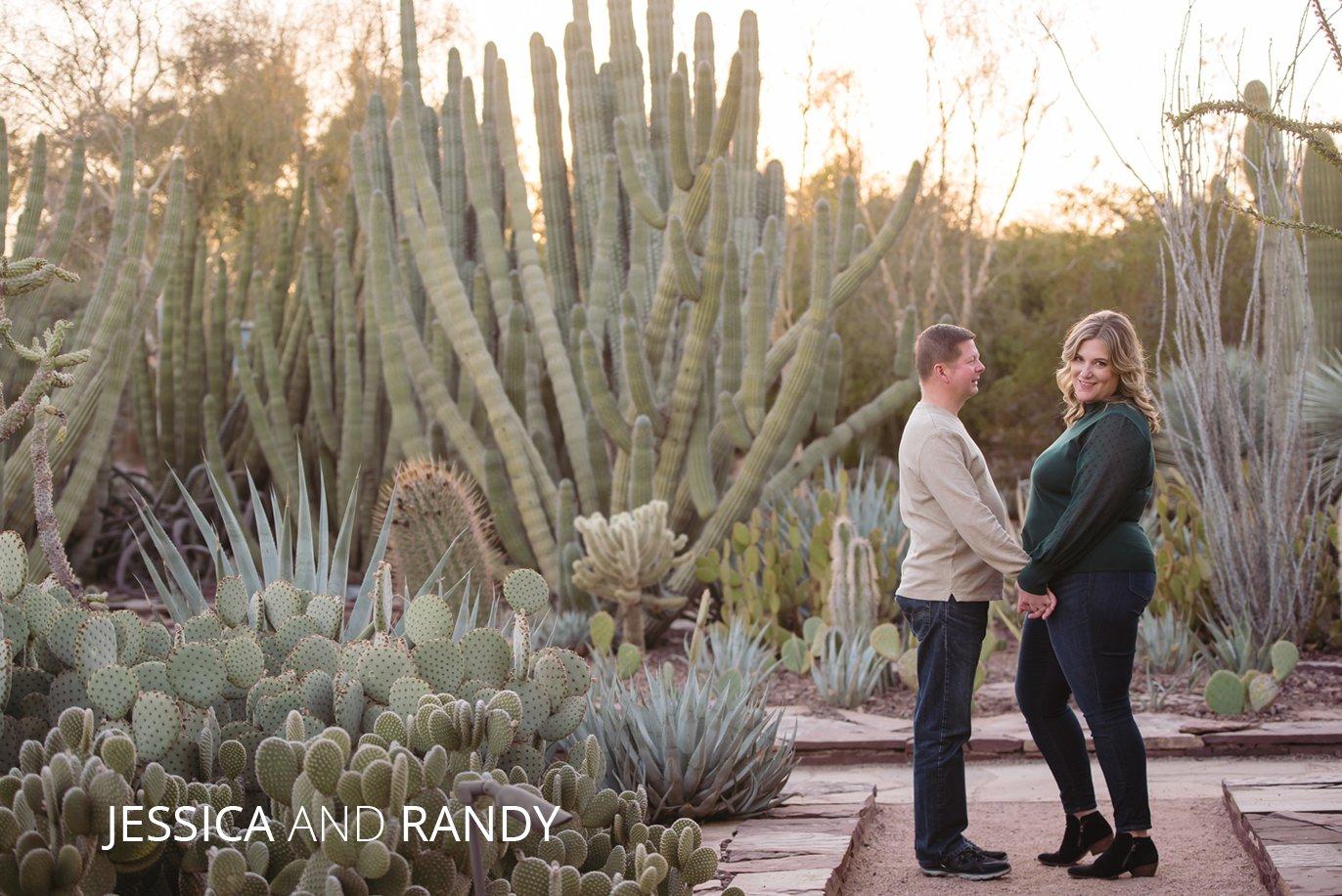 Desert Botanical Garden Engagement