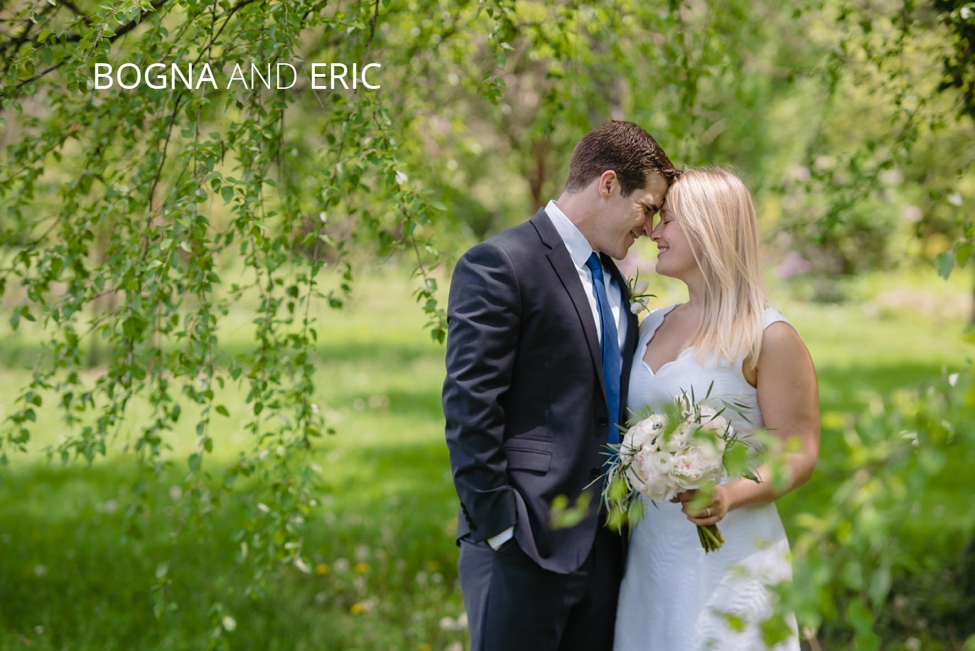 Park of roses elopement