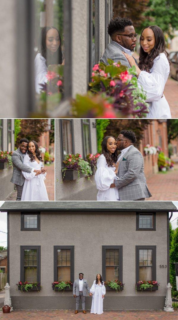 Engagement Photos in German Village