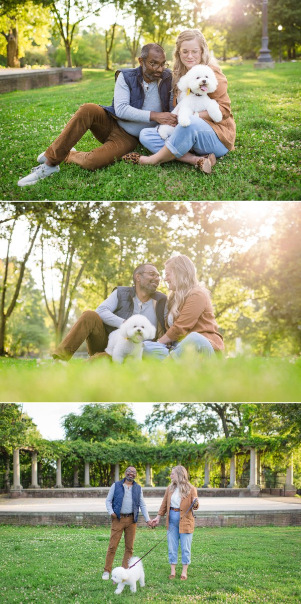 Engagement at Schiller Park